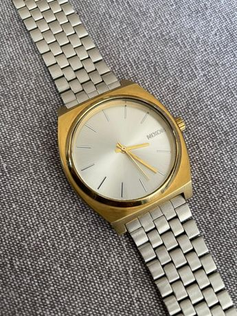 Relógio Nixon Time Teller Gold / Silver 37mm