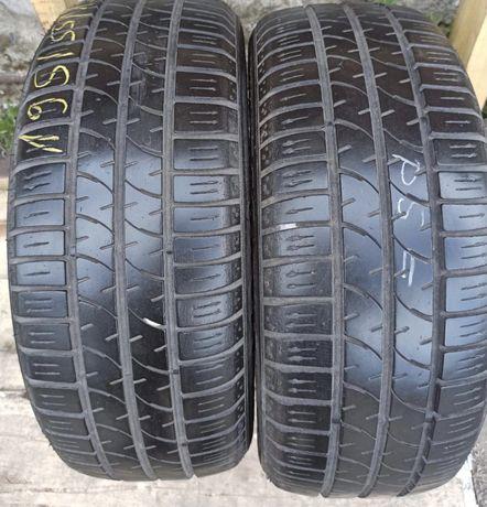 firestone 195/55r15 2 шт пара лето резина шины б/у склад