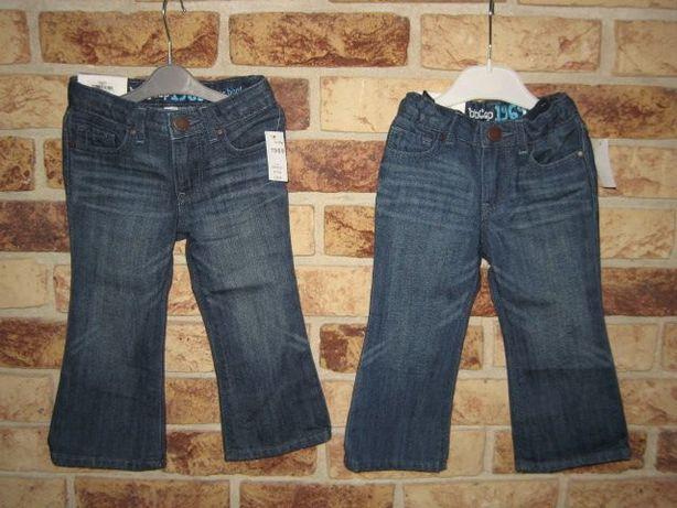 Spodnie nowe GAP 18-24m/92cm_ dla bliżniaczek