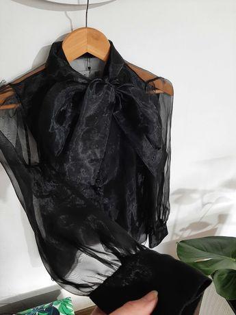 Koszula elegancka siatka Zara