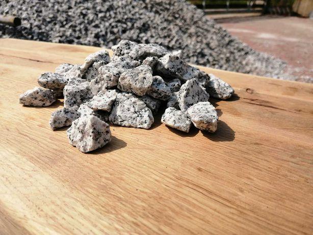 Grys granitowy 16-22mm, dalmatyńczyk, kamień ogrodowy, dekoracyjny