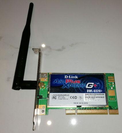 Karta WiFi PCi D-Link Air Plus Xtreme G+ DWL-G520+
