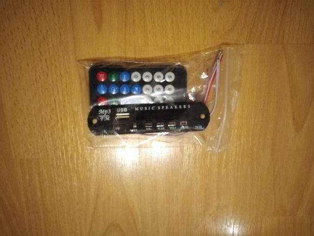 moduł odtwarzacz samochodowy pilot MP3 AUX RADIO USB