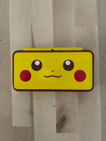 Nintendo 2DS XL Edição Pikachu + Pokémon Ultra Moon