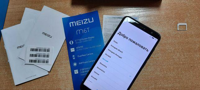 Мобильный телефон Meizu M6T на 2 sim, 2/16, международная версия.