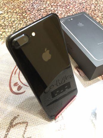 Iphone 7+ plus Jet Black 32 gb