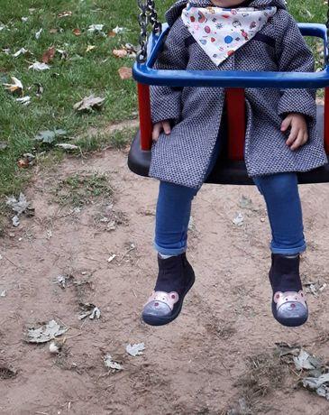 Płaszczyk dla dziewczynki r.80