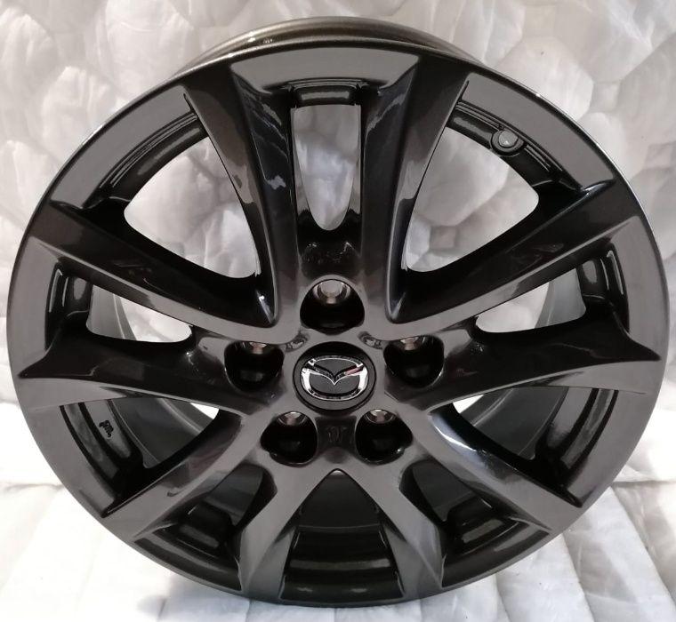 4x alufelgi 6,5x16 Mazda 3 6 CX3 CX5 nowe 5x114,3 oryginalne Ciepłowody - image 1