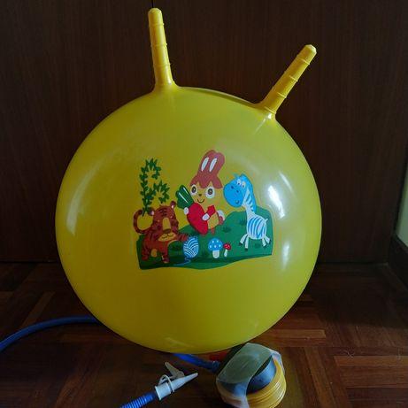 Bola saltitona de criança 55cm diâmetro