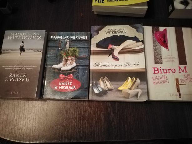 Zestaw książek Magdaleny Witkiewicz
