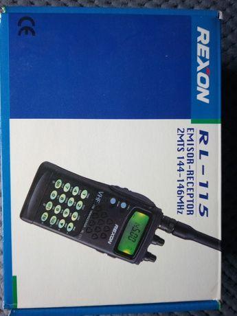 Rádio emissor e receptor VHF