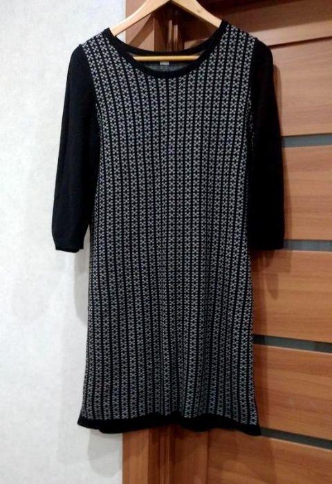 Теплое Вязаное Платье Оliver / Шерсть/ р. 46-48 Ровно - изображение 1