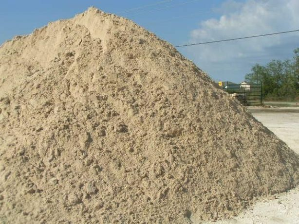 Песок навалом и в мешках итд.