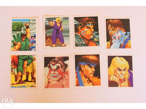 Cromos - Autocolantes Super Street Fighter 2 (Merlin)