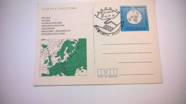 Kartka pocztowa okolicznościowa 1973 stempel Takon