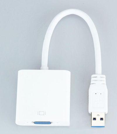 Placa Gráfica Externa USB VGA