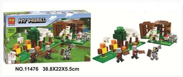 ⫸ Конструктор LARI Minecraft 11476 Аванпост разбойников ,321Lego. Лего