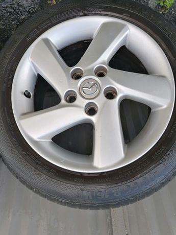 Opony z alufelgami 205/55 R16 Letnie, Mazda 6