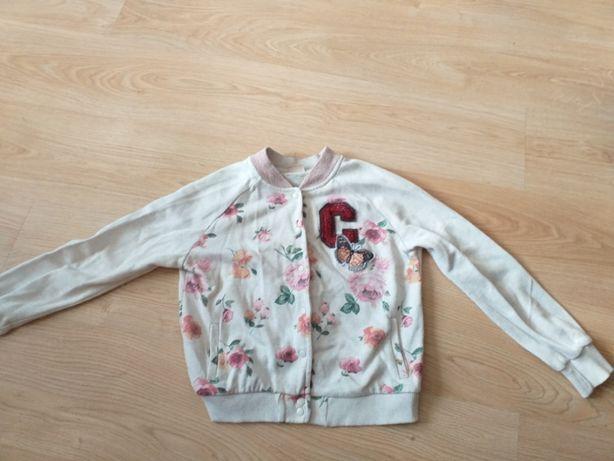 Bluza dziewczęca rozpinana Zara rozm. 140 cm