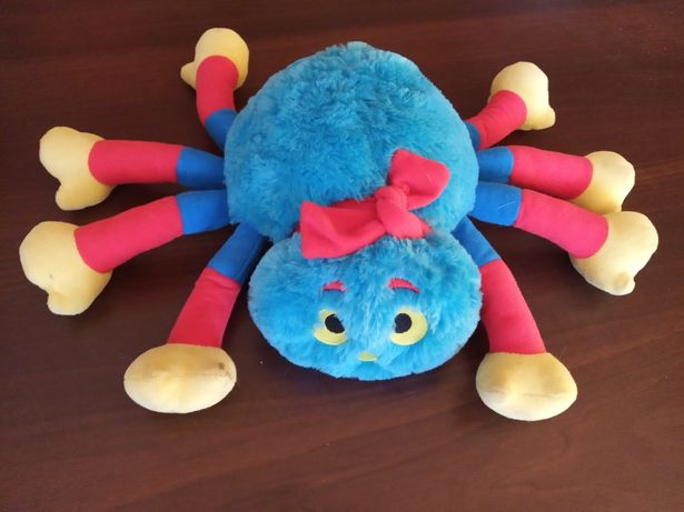 Maskotka pająk z bajki wolly and tig