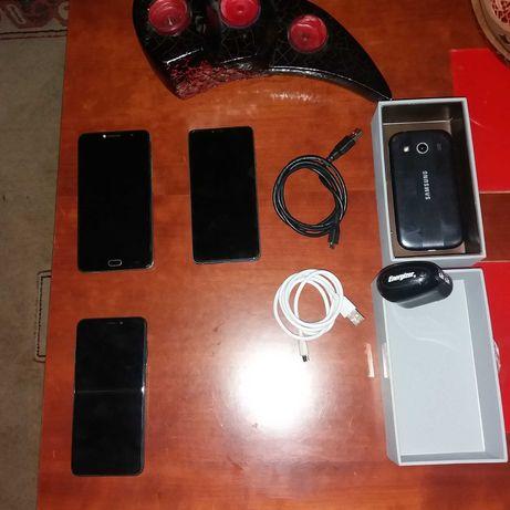 Smartphones e carregador