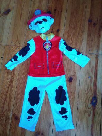 Новогодний костюм, наряд Маршала Щенячий патруль 2-4 года, рост 98