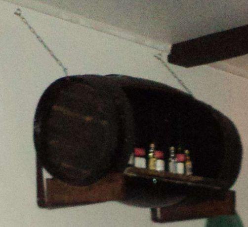 Prateleira barril