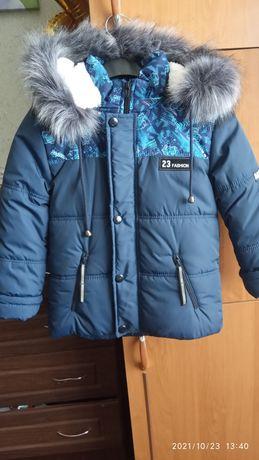 Куртка нова зимова 5-6р