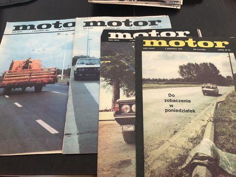 Tygodnik MOTOR 1985 rok