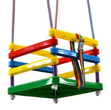 Huśtawka Plastikowa Duża Dla Dzieci Kolorowa Od Ręki !!
