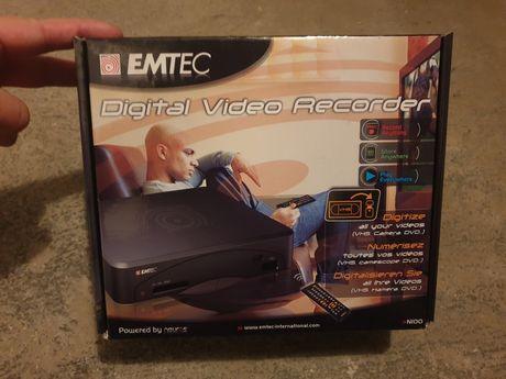 Emtec N-100 urządzenie do przegrywania VHS nagrywarka cyfrowa kaset
