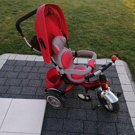 Rowerek trójkołowy czerwony