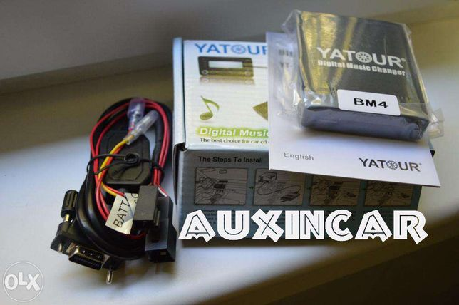 MP3 адаптер usb aux Yatour для магнитолы с DSP или без bmw X5 E53 E39