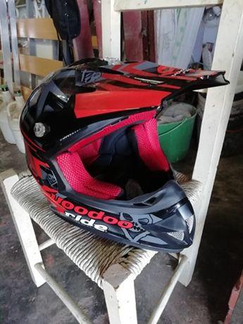 Capacete motocross Voodoo Ride