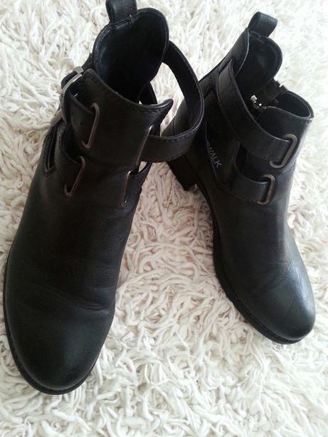 Buty z klamrami przejściowe 40