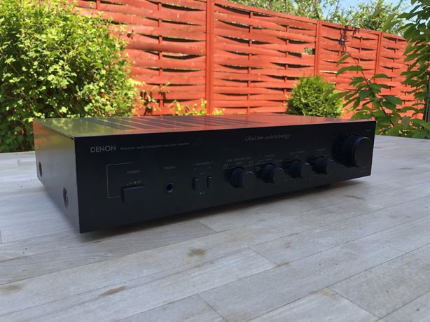 Audiofilski Wzmacniacz Denon PMA-707 - Hi-Fi vintage, super jakość