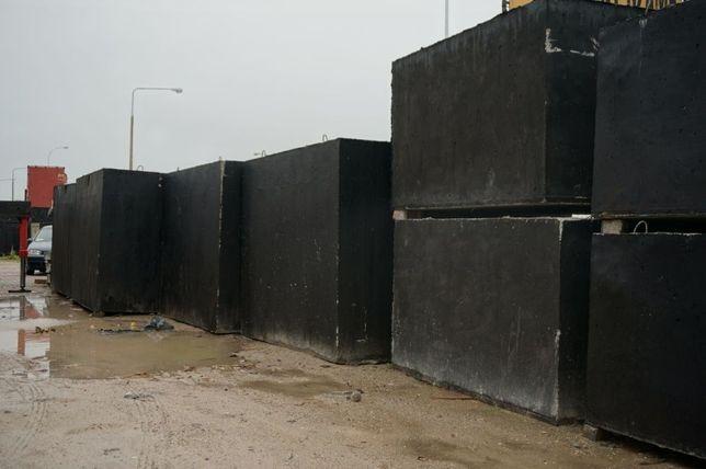 Zbiornik betonowy na gnojówkę i gnojowicę a także szambo szamba 6m3