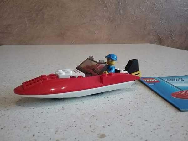 Lego City 4641 Łódź wyścigowa