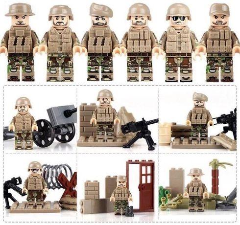 #108 фигурки военных второй мировой войны swat спецназовцы Лего lego