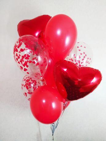 Шарики Воздушные, Гелиевые, метровые цифры, Баблс, на день рождения