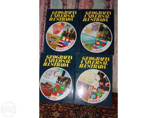 Livros - Coleção Geografia Universal Ilustrada