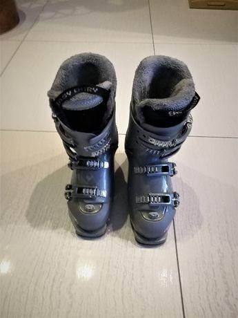 Buty narciarski Roxy - szare - 24,5 - 1 właściciel Jak Nowe