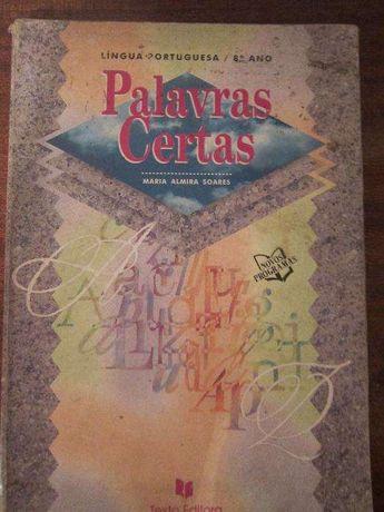 Palavras Certas - Língua Portuguesa 8ºano - Texto Editora