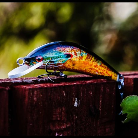 Wobler Posejdon. 6cm - Tonący. Kiler na każdą rybę! Diana No. 11