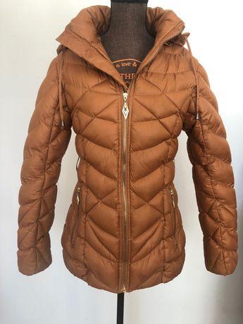 Nowa taliowana kurtka nie pinko Tom Fashion S/ M / brązowy Ala płaszcz