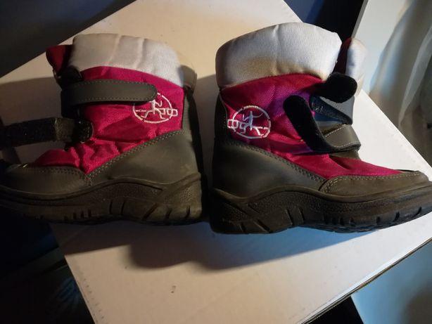 buty śniegowce dla dziecka rozmiar 27