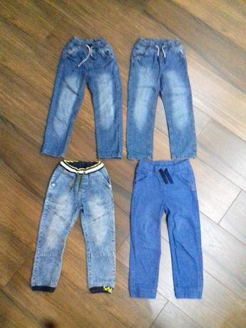 Spodnie jeans joggersy cool club r 116