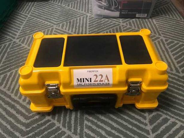 Máquina de Fusão FiberFox Mini 22A + Ferramentas