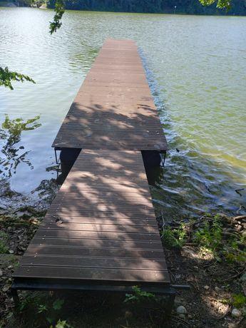 Promocja jesienna-pomost,platforma pływająca,przystań