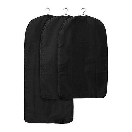 Чохлів для одягу, Чорний 60х105 См